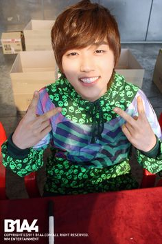 Sandeul, from B1A4