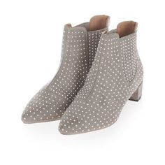 SALE COCO LADIES L8640 PULL ON HIGH BLOCK HEEL CASUAL WINTER ANKLE BOOTS SHOES