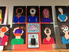 Apex Elementary Art: Magritte inspired paintings 5th grade