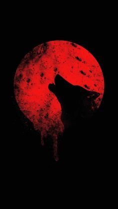 Blood Wolf IPhone Wallpaper - IPhone Wallpapers