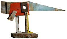 Materialen: Hout en ijzer techniek: vast gespijkerd Mening:  Kunstenaar:Topipittori: The Mook! - Dimatteo