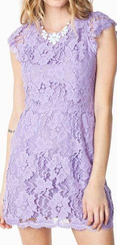 Lavender Lace Dress ♥