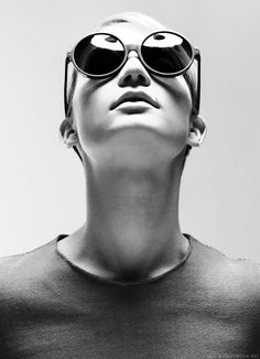 Stars wearing glasses | The wonderfull Mia Wasikowska wears sunglasses for Black Book photo by Santiago Sierra. #MiaWasikowska #sunglasses #plastic #glasses #eyewear #Offensichtlich