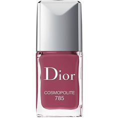 Dior Vernis Couture Colour Gel Shine Long Wear Nail Lacquer/0.33 oz. found on Polyvore featuring beauty products, nail care, nail polish, beauty, nails, apparel & accessories, cosmopolite, glossy nail polish, christian dior and gel nail color