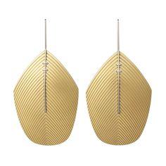 'Plume' Earrings | Contemporary Earrings by contemporary jewellery designer John Moore