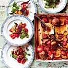 Een heerlijk recept: Jamie Oliver: kleverige kip uit de oven zonder omkijken