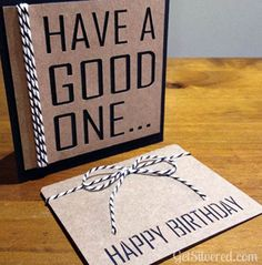 FREE STUDIO CUT FILE MALE Birthday Card & Gift Card Folder – Free File Friday.