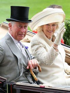 Hats! Prince Charles and Camilla, Duchess of Cornwall