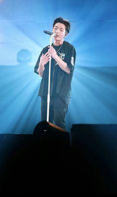 Bobby on stage Kim Ji Won, Kpop Boy, Ikon, Bobby Pins, Rapper, Stage, Concert, Bunny, Sweet