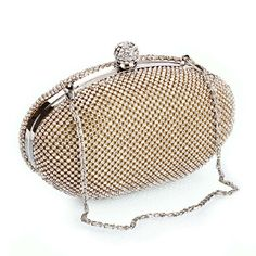 BMC Clear Rhinestones Gold Armor Mesh Chainmail Covered Oval Shaped Disco Ball Fashion Handbag Evening Clutch b.m.c http://www.amazon.com/gp/product/B00K5FZFN2/ref=as_li_tl?ie=UTF8&camp=1789&creative=390957&creativeASIN=B00K5FZFN2&linkCode=as2&tag=ouisto-20&linkId=LKD4KKH46DJPBEOA