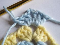 How-to make standing stitches, no more 3 chains at the beginning of a round. By yarnroundhook.