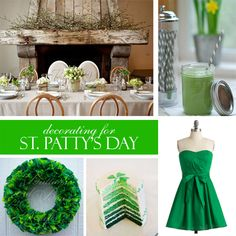 st patrick's day decorating ideas party - Google Search