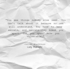 Julian Blackthorn Lady Midnight quotes