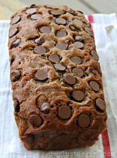 Banana Chocolate Chip Zucchini Bread