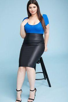 Plus Size Pencil Skirt – BPosh Beauty Bar & Boutique Plus Size Pencil Skirt, Satin Pencil Skirt, Pencil Skirt Casual, Pencil Skirt Outfits, High Waisted Pencil Skirt, Pencil Skirts, Pencil Dresses, Skirt Midi, Denim Skirt