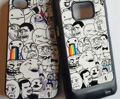 Do you like rage faces? Do you like memes? Then y u no get a meme cell phone case for your iPhone to show your love for all things meme.