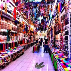 Bead store in Athens, Greece.