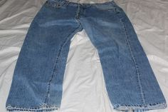 Levis 501 36x32 blue jeans pre-owned #Levis #straightleg
