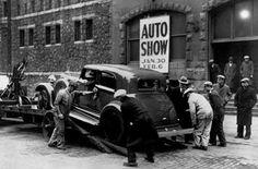 1932 Chicago Auto Show - Hupmobile #auto #cars #Chicago