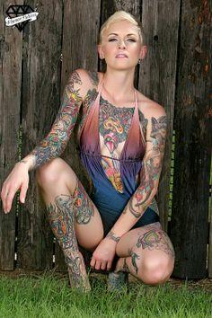 163570_528130893916121_946583611_n.jpg (512×768) Inked Girls, Tattoo Hurt, Tatto Ink, Tattoo You, Soul Tattoo, Tattooed Women, Tattoos For Women, Woman Body Tattoo, Full Body Tattoo