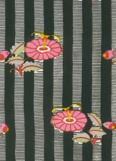 1910, Wimmer-Wisgrill, fabric  ant / Ameise Art Nouveau, Paint Designs, Deco, Pattern Wallpaper, Ants, Vienna, Design Art, Arts And Crafts, Textiles