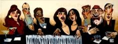 Passing Notes at the Bar by Todd WHITE Limited Edition Print...£1120