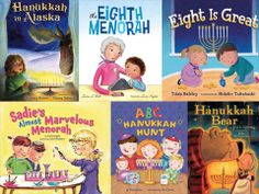 6 Great Chanukah books for kids from BookPage