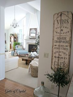DIY:: Beautiful French Country Cottage Family Room Remodel ! Tons Of Repurposing Ideas And Low cost Tutorials !