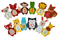 Pearhead First Year Monthly Milestone Felt Animal Photo Sharing Baby Belly Stickers, 1-12 Months - Pearhead First Year Felt Belly Stickers are the cutest stickers for sharing your child's growth during their first 12 months! These deluxe monthly stickers are designed with layered felt and animal motifs. 12 adorable animal shaped stickers include a koala, fox, monkey, alligator, lion, squirrel,...