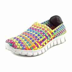 30.95$  Buy here - http://vimoc.justgood.pw/vig/item.php?t=cp0d6f3925 - Corkys Joann Round Toe Canvas Walking Shoe Multi Color US Size 7