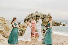 Intimate Beach Wedding Elopement in Barcelona with Beach Wedding Dress, White Suit and Protea Bouquet by CheChic Weddings & Rossella Putino Photography White Wedding Suit, Wedding Suits, Elope Wedding, Wedding Ceremony, Elopement Wedding, Floaty Wedding Dress, Wedding Dresses, Protea Bouquet, Bouquets