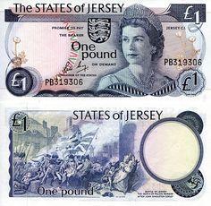 Jersey £1p 1976-78