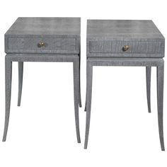1stdibs - Pair of Elegant Cerused Nightstands/End Tables explore items from 1,700  global dealers at 1stdibs.com
