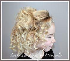 No heat Curls:  Headband Curls
