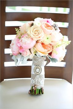 pastel bouquet captured by stay forever photography #bouquet #weddingphotography #weddingchicks http://www.weddingchicks.com/2014/02/12/stay-forever-photography