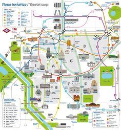 Madrid Mapa Turistico