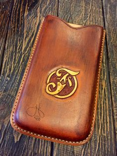 Handmade Leather Iphone6+ Case