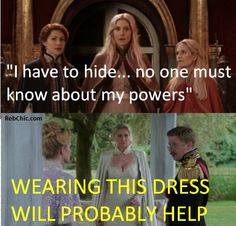 Once upon a time season 4 episode 7: Ingrid's wardrobe change