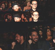 Linkin Park - what does Mike find so funny?
