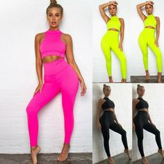 Getting Back In Shape, Crop Top Bra, Vest Outfits, Gym Leggings, New Instagram, Wholesale Clothing, Sports Women, New Trends, Yoga Fitness