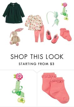 """""""Sin título #3147"""" by alejaborrayo on Polyvore featuring Carter's, Gymboree, Baby, girl, seven y months"""
