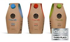 32 Delicious Milk Packaging Ideas for Inspiration