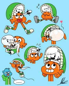 Ghost in a Beanie Collage by RadiumIven Cartoon Movie Characters, Sonic Fan Characters, Cartoon Crossovers, Adventures Of Gumball, Nickelodeon Cartoons, Carrie, Sad Wallpaper, World Of Gumball, Character Design