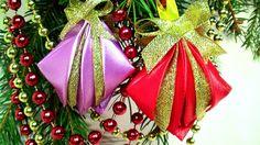 Новогодние Игрушки Своими Руками, Игрушки на Новый Год на Елку / DIY Chr...