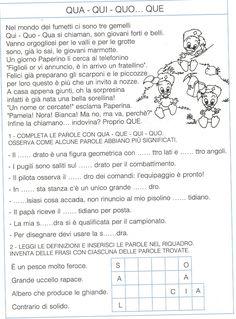 Italian Language, Teaching Materials, Primary School, Reading, Texts, Speech Language Therapy, Languages, Teachers, Upper Elementary