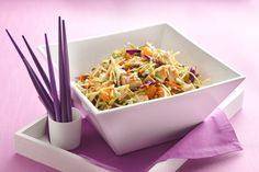 Healthy Chinese Chicken Salad Recipe, without the water chestnuts or mandarin oranges