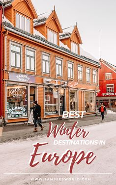 Best Winter Destinations in Europe - Is it worth it to visit Europe in winter? What are the best cities to visit for a winter city - Best Winter Destinations, Travel Destinations, European Destination, European Travel, See World, In This World, Winter Travel, Winter Europe, See The Northern Lights