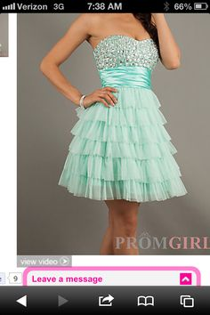 This is Mia's actual sweet sixteen dress