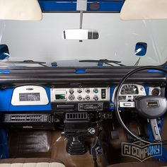 1983 Toyota Land Cruiser BJ46 Medium Blue, see related pics…