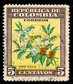 coffee on postage stamps - Google Search